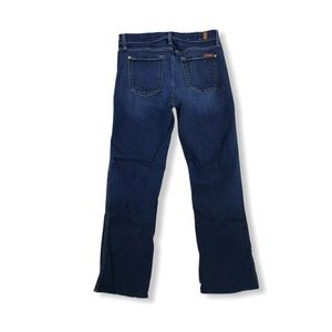 7 For All Mankind Jeans Crop Sz 29 X 27 Boot 14-4